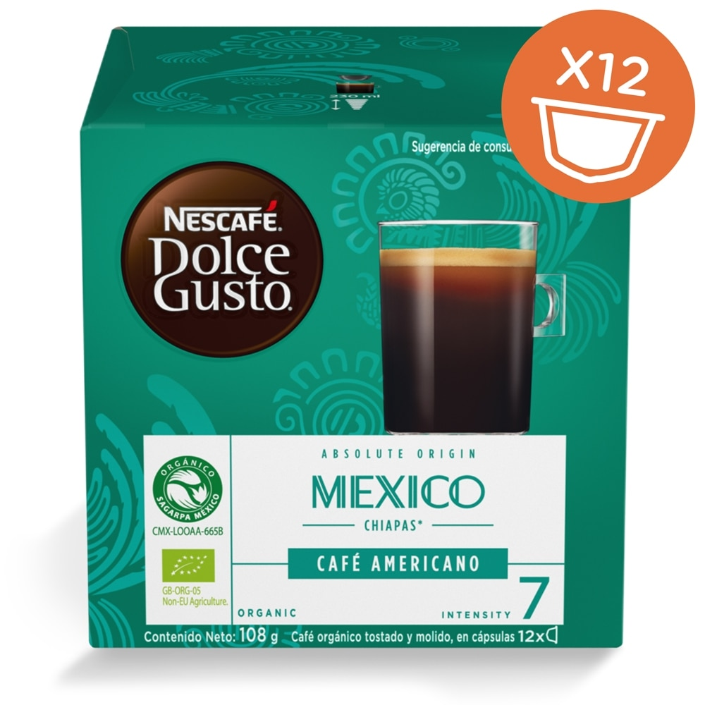 Mexico Chiapas Americano 12 Capsules Product Pack